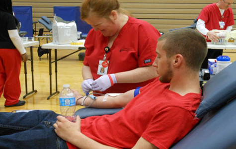 100 units of blood donated at April 10 blood drive
