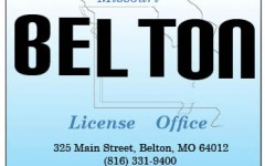 belton license office