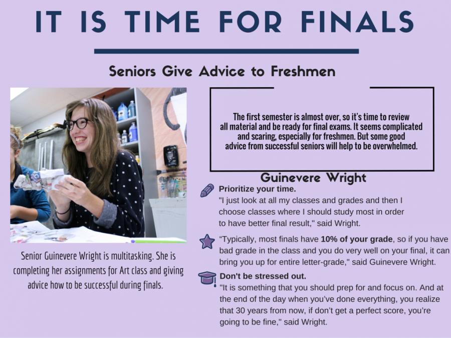 RayPecNOW : Senior advice for freshmen regarding finals