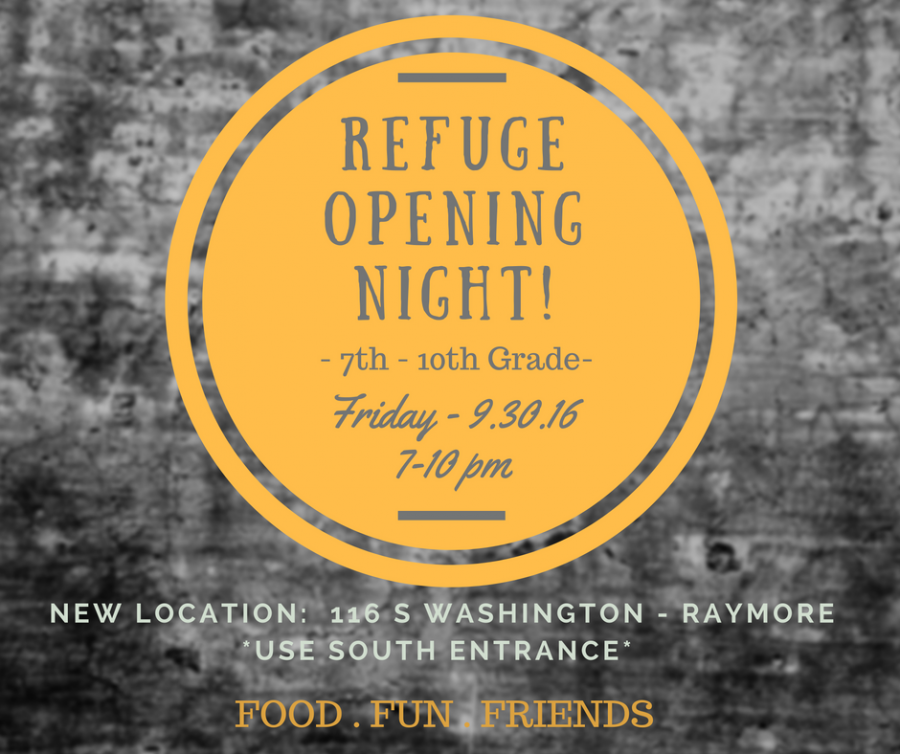 Refuge opening