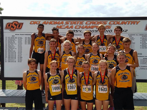 Congrats to cross country