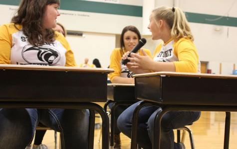SLT performs in assemblies at K-8 schools