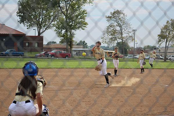 Varsity softball had their senior night on Sept. 23.