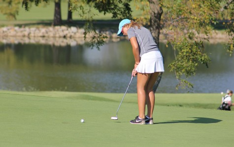Girls' golf places 3rd in District tournament