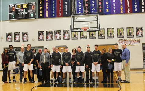 Boys Varsity senior night