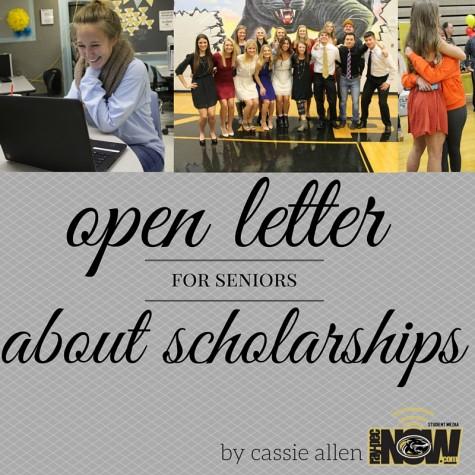 Open Letter about Scholarships: For Seniors