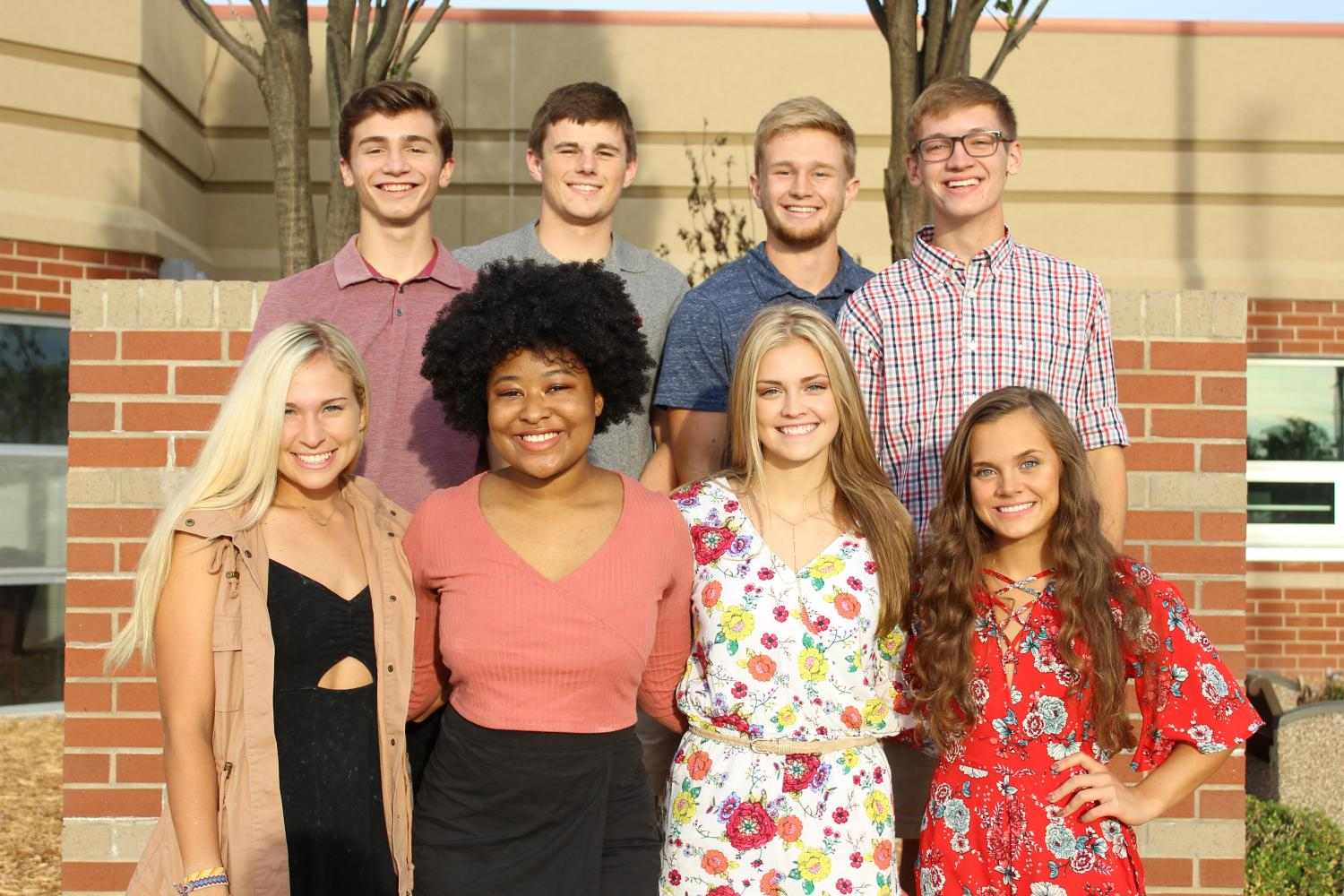 Homecoming candidates 2017