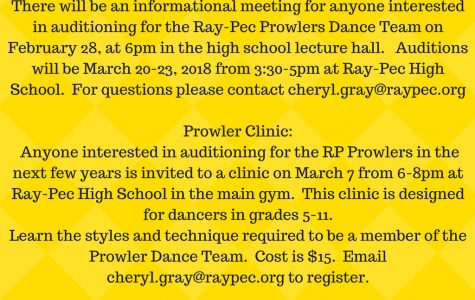 Prowler's auditions/clinic
