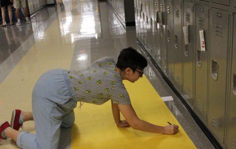 Student senate: decorates the halls