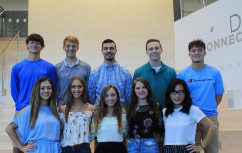Homecoming candidates 2018-2019