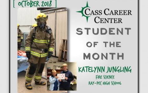 Cass Career Center- Student of the month