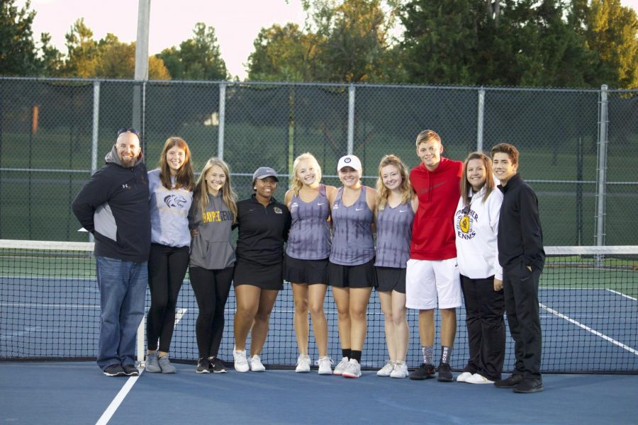 Girls Tennis: double team to state