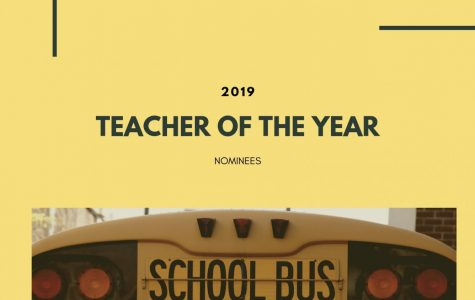 Teacher of the year nominees