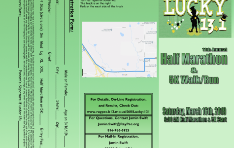 'Lucky 13.1 Half Marathon' sign up