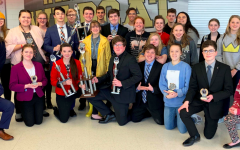 Forensics and debate team places 2nd in overall sweepstakes at Neosho Tournament