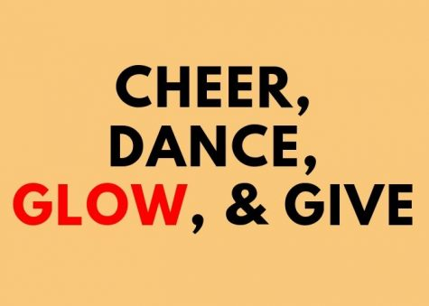 Cheer, dance, glow, and give